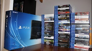 Ps4 Game Collection 2019  78 Games