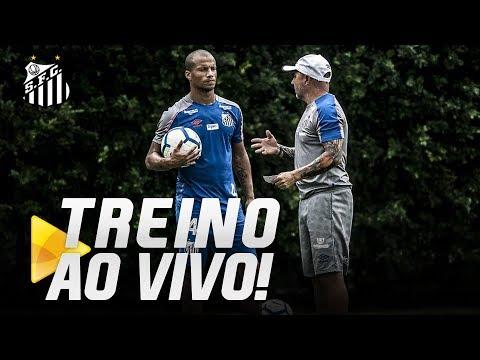 TREINO AO VIVO, DIRETO DO CT REI PELÉ (05/06/19)