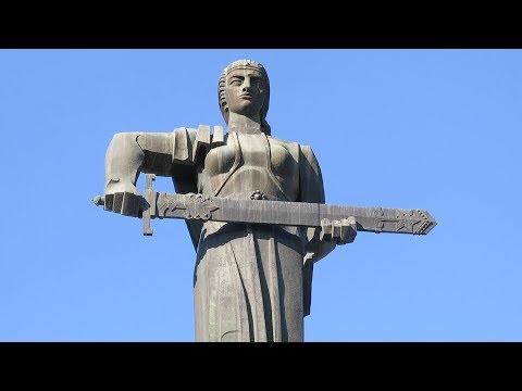 Yerevan, 04.06.17, Su, Video-1, (на рус.), Прогулка.Парк Победы (Монумент)