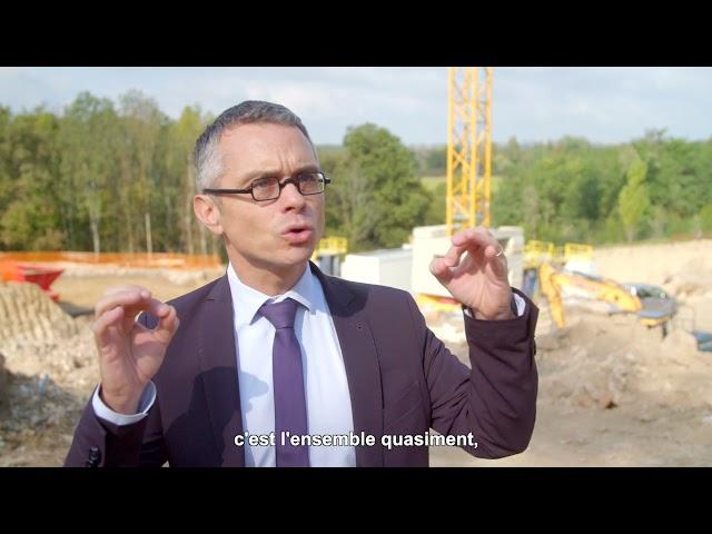 ALILA - 1ere Pierre  L'ÉLOGE à Charbonnières - Renaud PAYRE – Vice-Pdt de la Métropole
