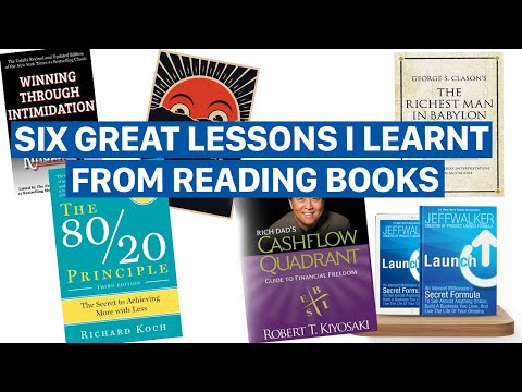 6 Powerful Lessons I Learnt From Reading Books | Freelance and Business