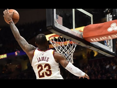 LeBron James BEST Dunks 2017-2018 Season