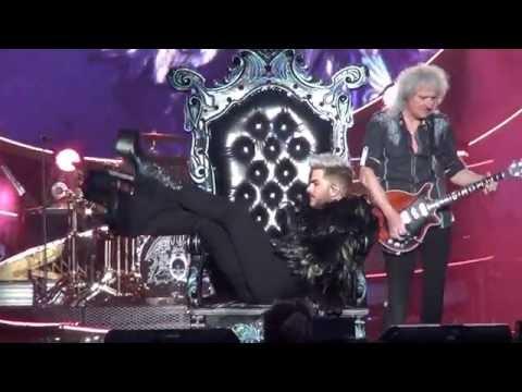 Queen+Adam Lambert: Play The Game / Killer Queen. European Tour 2016 Tallinn.