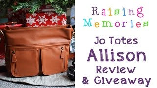 Jo Totes Allison Bag and Giveaway