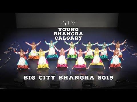 Young Bhangra Calgary – Big City Bhangra and Giddha Competition 2019