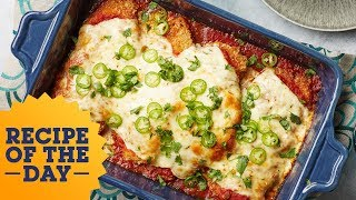 Tex-Mex Chicken Parmesan | Food Network