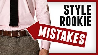 7 Style Rookie Tips | Beginner Fashion Mistakes Most Men Make | RMRS