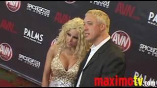 GINA LYNN Arriving at 2010 AVN AWARDS SHOW Las Vegas
