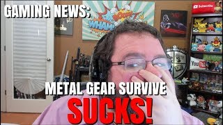 Gaming News: Metal Gear Survive SUCKS!  10 DOLLAR SAVE SLOTS?!?!