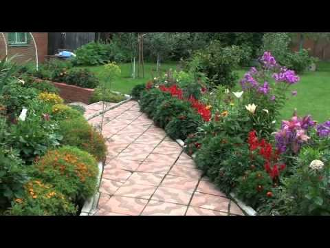 видео: Красота и уют на садовом участке.