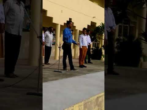 Deep joshi in Maharishi school