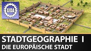GIDA - Stadtgeographie I - Die europäische Stadt - Geographie - Schulfilm - DVD Trailer
