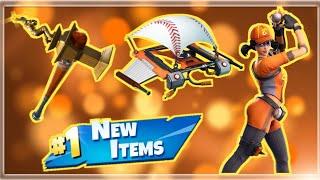 NEW Baseball Skins & Items! - Giveaway Tomorrow! - Fortnite Live Stream!
