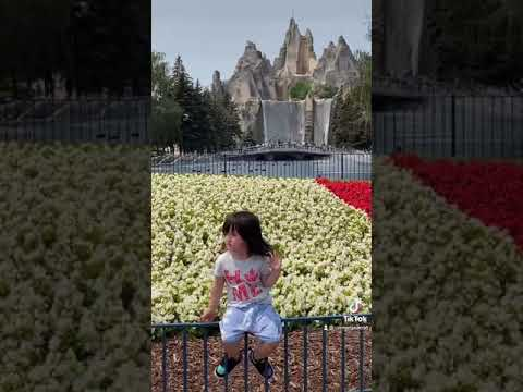 Canada's Wonderland 2021 🇨🇦 #Short video of my daughter at park