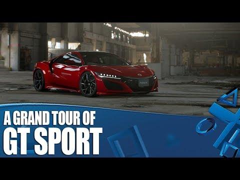 Gran Turismo Sport - A Grand Tour of GT Sport