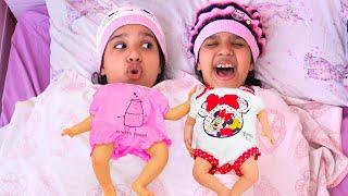 شفا صارت أم للبيبي !!!Shfa found a boy doll and pretends to be a parent