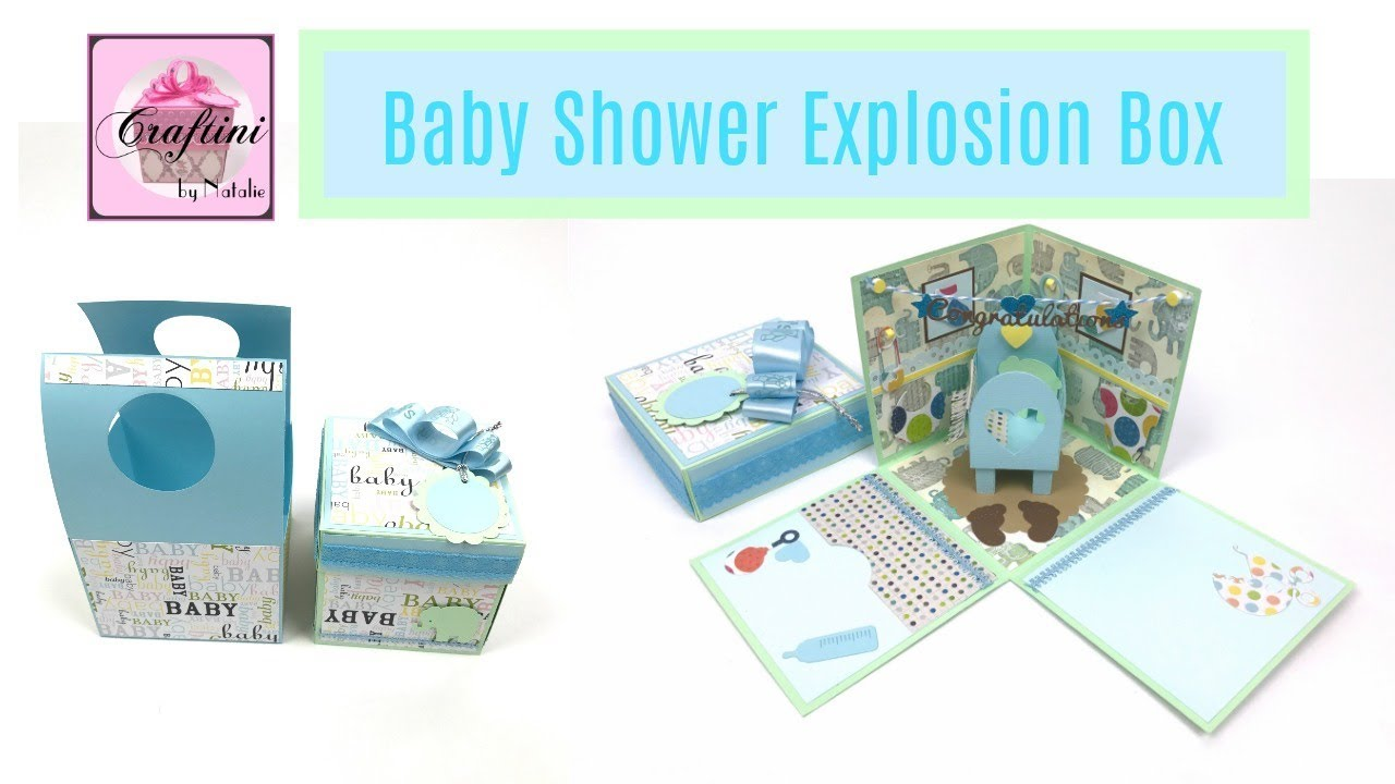 The Best Baby Shower Gift Card Holder Diy How To Make Baby Shower Explosion Box