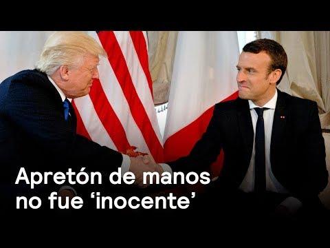 Apretón de manos con Trump no fue 'inocente': Emmanuel Macron - Despierta con Loret