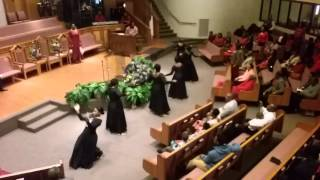 Divine Purpose Praise Dance Team (God Blocked it- Kurt Carr)