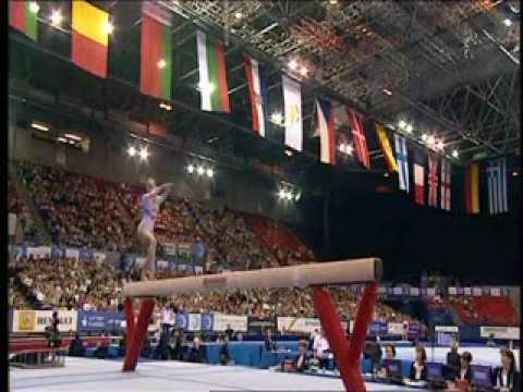 Raluca Oana Haidu (Romania) - 2010 Euros - TF - Balance Beam