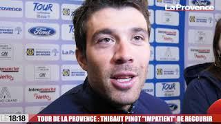 """Tour de La Provence : Thibaut Pinot """"impatient"""" de recourir"""