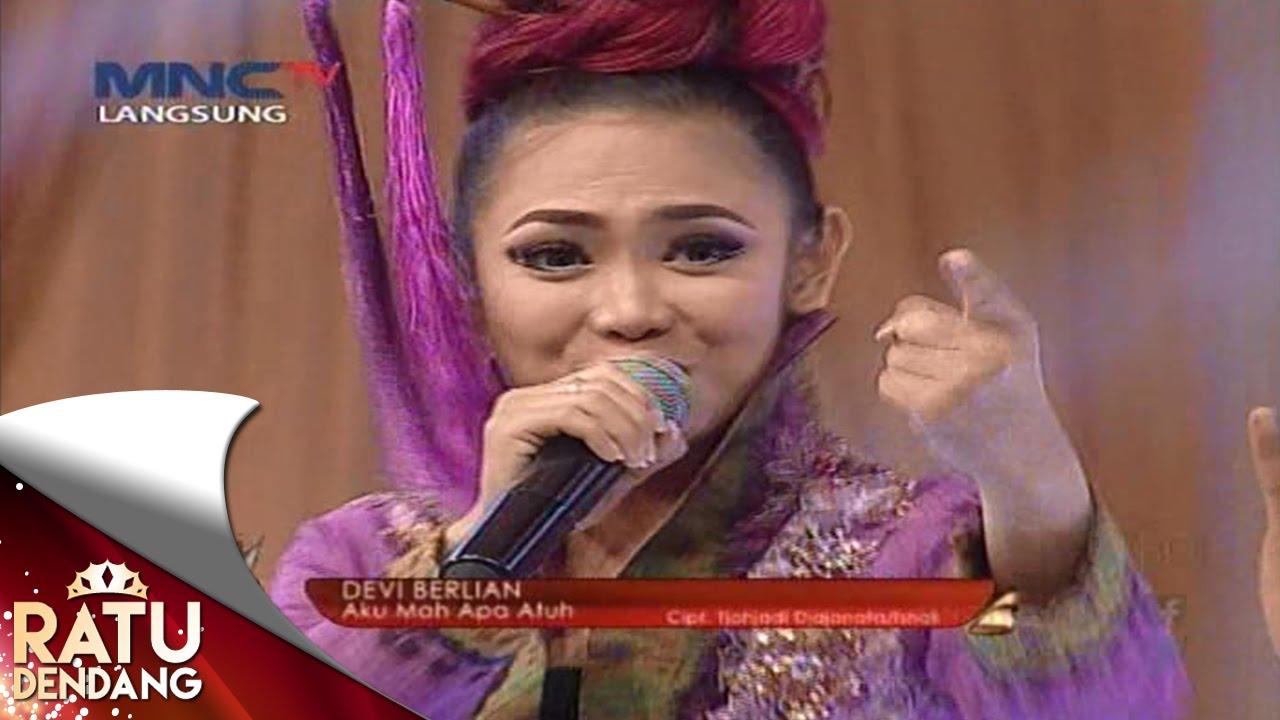 """Devi Berlian """" Aku Mah Apa Atuh """" Ratu Dendang (14/9) - YouTube"""