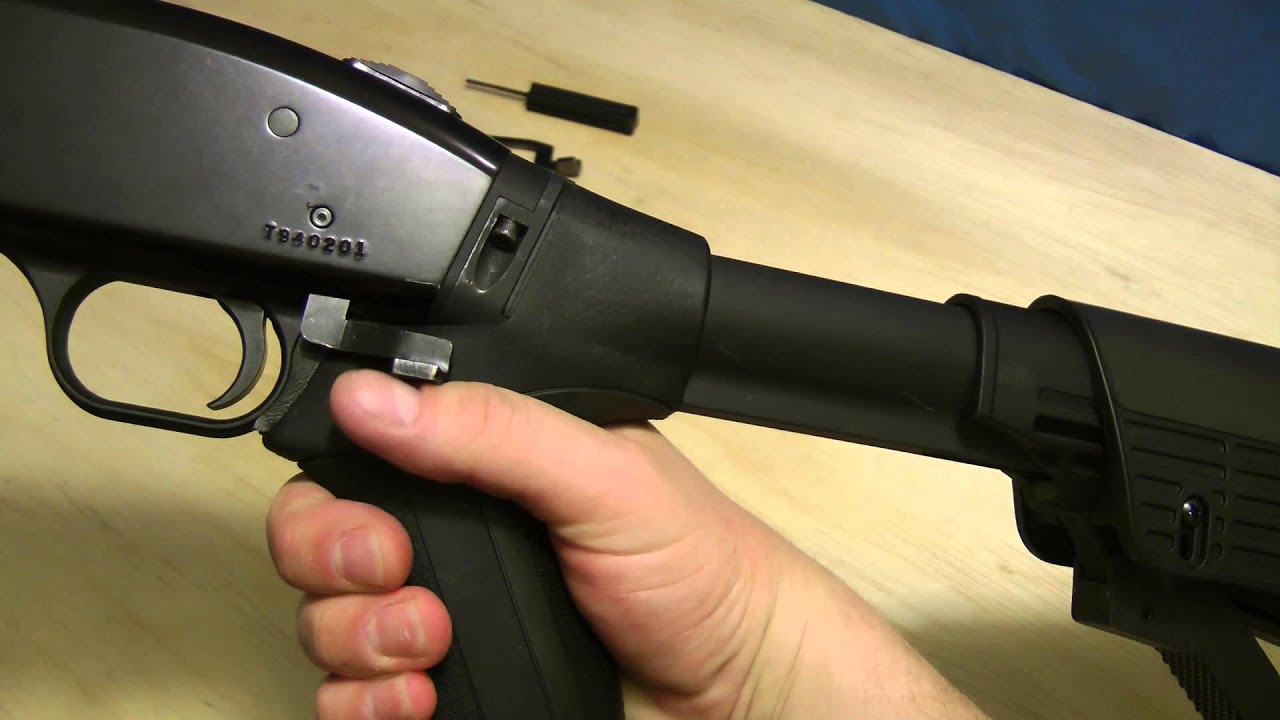 Shoten Armory Extended Action/Slide Stop Release Lever (Mossberg 500) Review