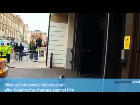 Woolwich murder  Michael Adebowale arrives at court   video   UK news   guardian co uk