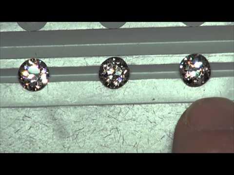 Old European Cut Diamond Comparison