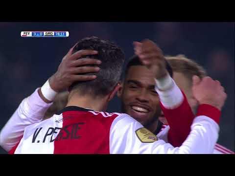 Feyenoord - FC Groningen / 3-0 Robin van Persie