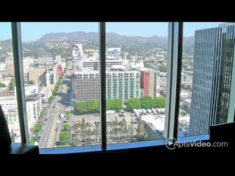 Sunset Vine Tower Apartments in Hollywood, CA - ForRent.com - YouTube
