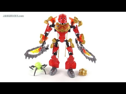 LEGO Bionicle Tahu Master of Fire review! set 70787 - YouTube  LEGO Bionicle T...