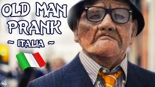 OLD MAN PRANK ITALIA - !!! Scherzi di Nonno Orazio | Parkour e Tricks a Livorno ! Anziano Acrobata