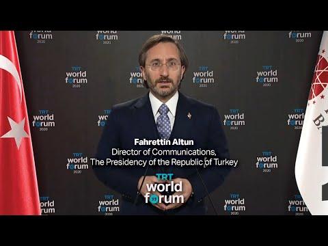 Fahrettin Altun's keynote speech at TRT World Forum 2020