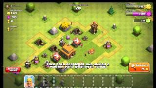 A construir el castillo! | Empezando en Clash Of Clans | Clash Of Clans en ESPAÑOL