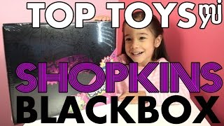 Shopkins Target Exclusive Mystery Edition Black Box -  Unboxing -Top Toys Mi & YU