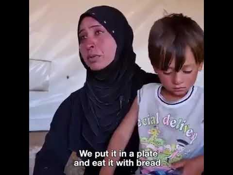 Feel for the people of Syria