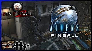 ALIENS VS. PINBALL | PS4 Review!! | Pinball FX 2 | Dad