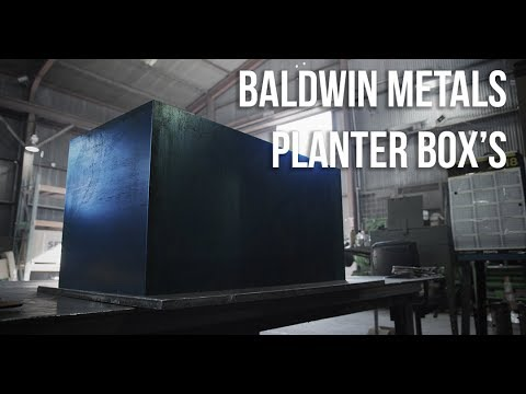 Baldwin Metals Planter Box 4K