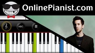 Calvin Harris ft. Ellie Goulding - Outside - Piano Tutorial (Easy Version)