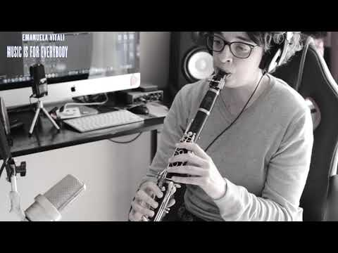 Memories of you, clarinet jazz cover.