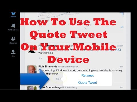 How To Use The Quote Tweet On Twitter YouTube Simple How To Quote A Quote