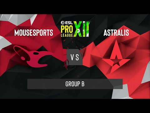 Astralis vs. mousesports [Dust2] Map 1 - ESL Pro League Season 12 - Group B - EU