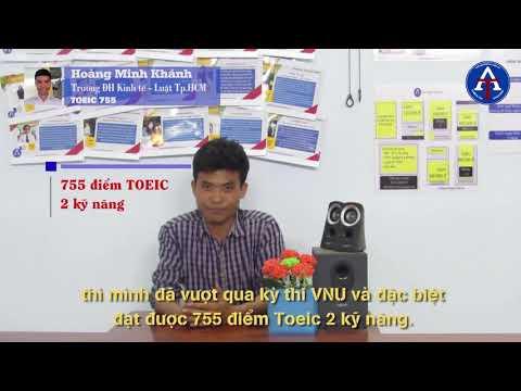[CẢM NHẬN HỌC VIÊN - TOEIC 755] - Bạn Hoàng Minh Khánh - ĐH Kinh Tế - Luật