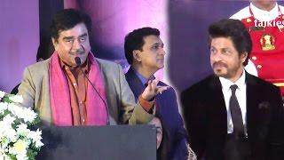 Shatrughan sinha's full speech praising srk for winning yash chopra memorial award 2017