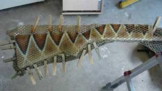 Airbrushing Snake Skin Paintjob