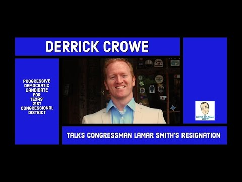 Derrick Crowe Wants Congressman Lamar Smith's Seat