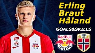 Erling Haland - The Norwegian Wonderkid 2019 Skills and Goals