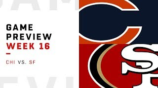 Chicago Bears vs. San Francisco 49ers | Week 16 Game Preview | NFL Playbook