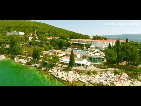 BEST OF DJI PHANTOM 4 - CROATIA - RABAC - 2016